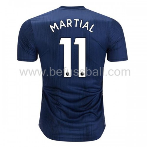 Manchester United Anthony Martial 11 3rd Trikot Kurzarm 2018-19