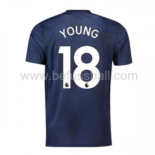 Manchester United Ashley Young 18 3rd Trikot Kurzarm 2018-19