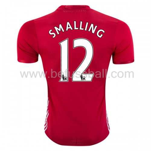 Manchester United Chris Smalling 12 Heimtrikot Kurzarm 2018-19