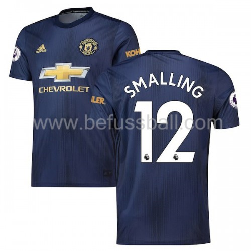 Manchester United Chris Smalling 12 3rd Trikot Kurzarm 2018-19