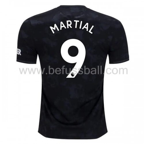 Manchester United 2019-20 Anthony Martial 9 3rd Trikot Kurzarm