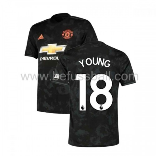 Manchester United 2019-20 Ashley Young 18 3rd Trikot Kurzarm