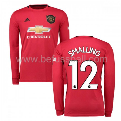 Manchester United 2019-20 Chris Smalling 12 Heimtrikot Langarm