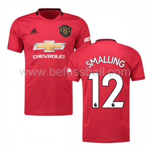 Manchester United 2019-20 Chris Smalling 12 Heimtrikot Kurzarm