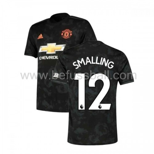 Manchester United 2019-20 Chris Smalling 12 3rd Trikot Kurzarm