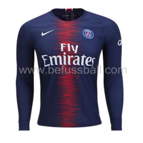 Paris Saint Germain Psg Heimtrikot Langarm 2018-19
