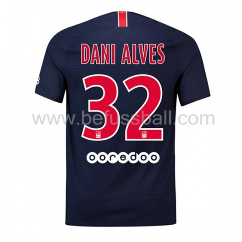Paris Saint Germain Psg 2019-20 Dani Alves 32 Heimtrikot Kurzarm