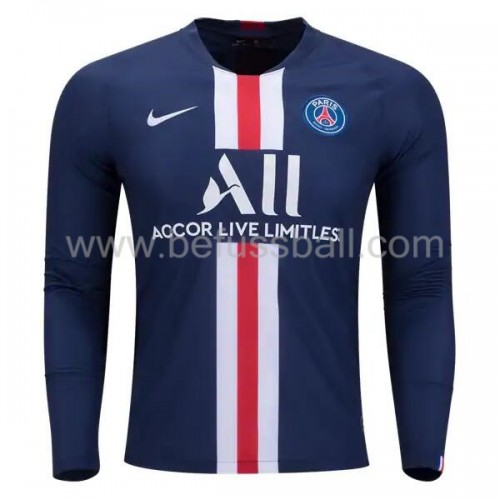 Paris Saint Germain Psg 2019-20 Heimtrikot Langarm