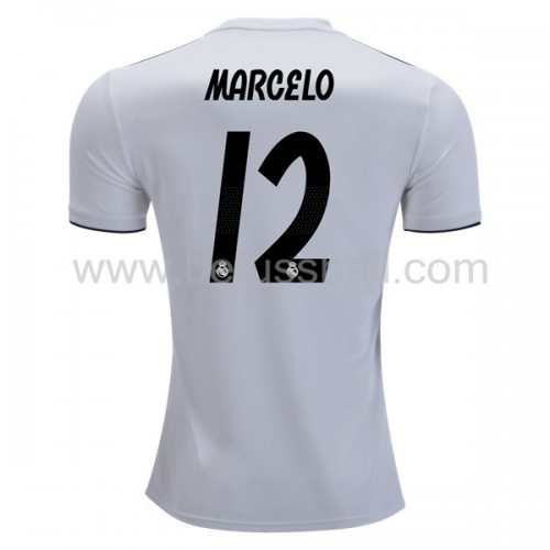 Real Madrid Marcelo Junior 12 Heimtrikot Kurzarm 2018-19