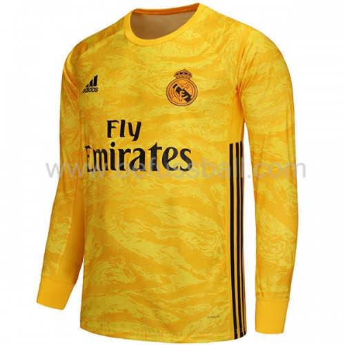 Real Madrid 2019-20 Torwart Heimtrikot Langarm