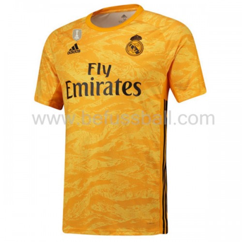 Real Madrid 2019-20 Torwart Heimtrikot Kurzarm