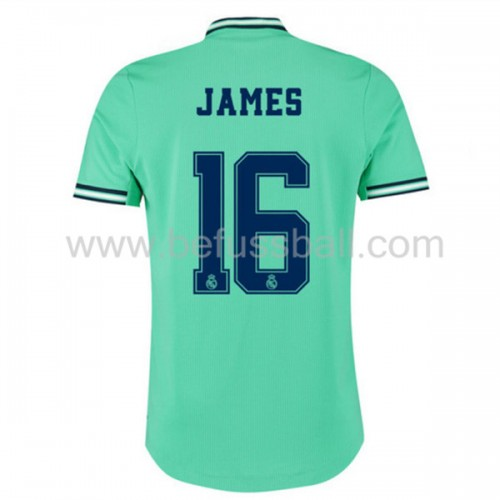 Real Madrid 2019-20 James Rodriguez 16 3rd Trikot Kurzarm