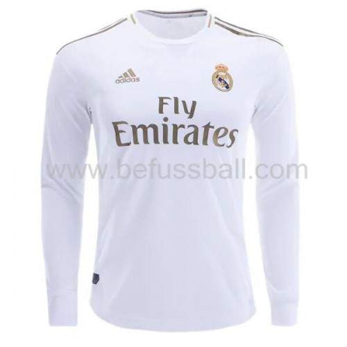 Real Madrid 2019-20 Heimtrikot Langarm