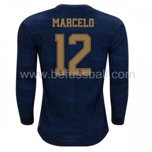 Real Madrid 2019-20 Marcelo Junior 12 Auswärtstrikot Langarm