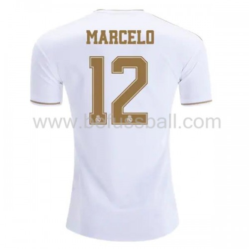 Real Madrid 2019-20 Marcelo Junior 12 Heimtrikot Kurzarm