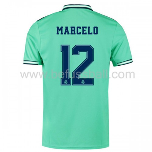 Real Madrid 2019-20 Marcelo Junior 12 3rd Trikot Kurzarm