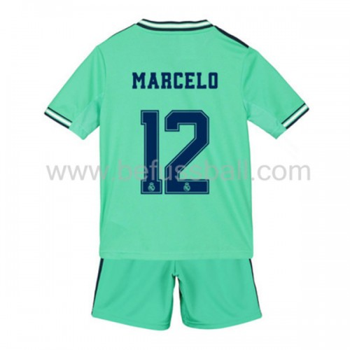 Fußballtrikots Kinder Real Madrid 2019-20 Marcelo Junior 12 3rd Trikot Kurzarm